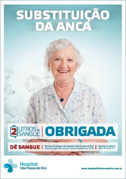 Campanha de Promoção da Dádiva de Sangue - Hospital Vila Franca de Xira