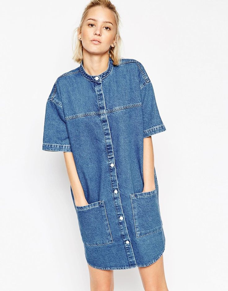 1000  ideas about Denim Shirt Dresses on Pinterest  Denim dresses ...