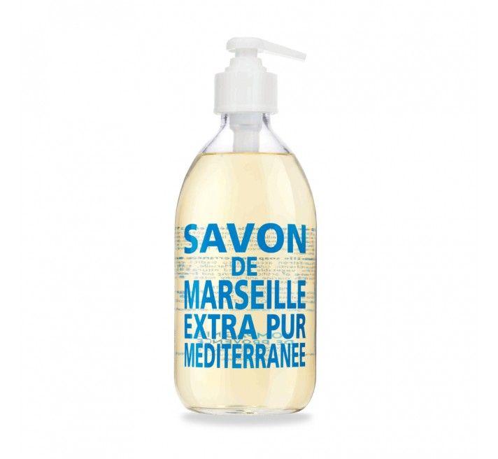 Savon liquide de Marseille Extra Pur Méditerranée - Compagnie de Provence #sea #fresh #soap