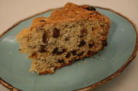 Irish Soda Bread with Raisins and Caraway Seeds