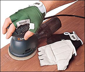 Anti-Vibration Gloves - Woodworking