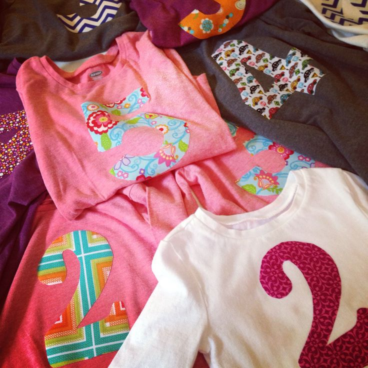 Birthday shirts!