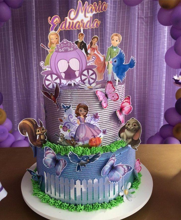 Pin by cirila romero on tortas princesa sofia in 2020