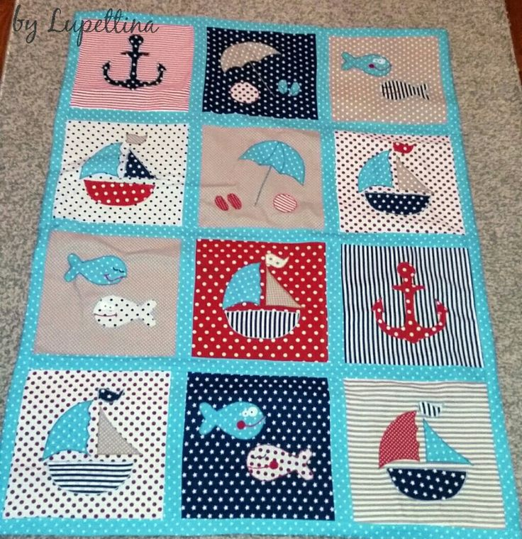 Baby quilts by Lupettina