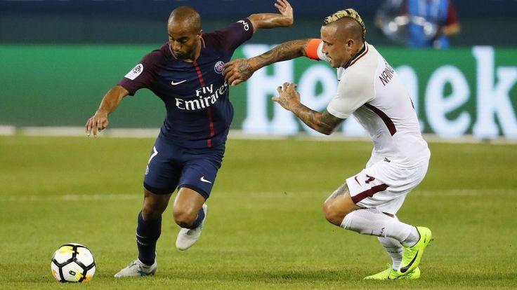 Roma gives new 4-year deal to Premier League target Nainggolan
