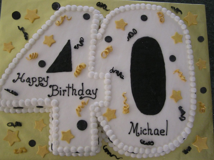 40 - This idea came from a CC member. Thank you. I have changed the colors and decorating. It was 2 flavors of cake carved from sheet pans.