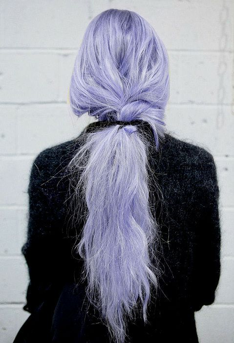 Purple Pastel Tail