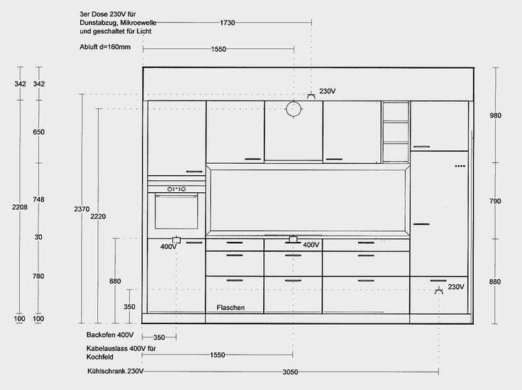 Fabelhaft Oberschrank Küche Höhe Und Beste Ideen Von Steckdosen Küchen 6