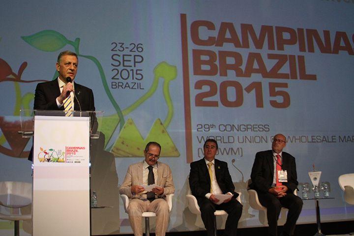29th WUWM Congress, Campinas, Brazil 23-26 September, 2015 #WUWMBrazil #Campinas # Wholesalemarkets #foodmarkets