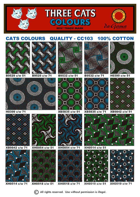 da gama textiles  Cats_Colours_cws_51_71_2012