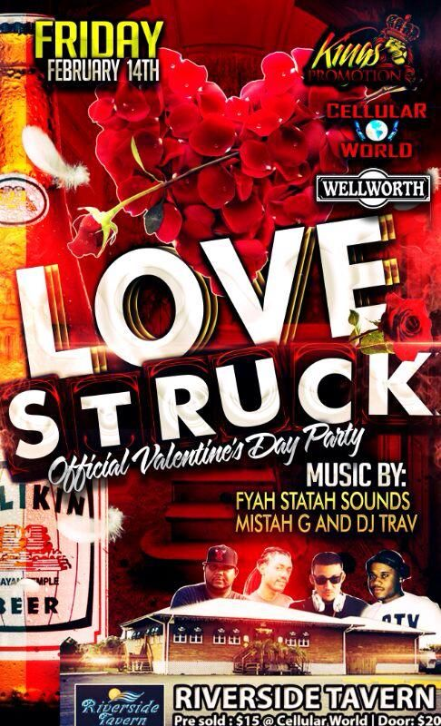 2014 Rockstar Photoworks Flyer Design Name Love Struck