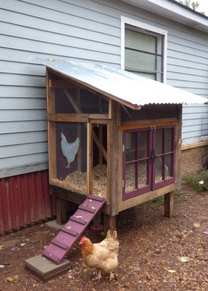 45 Ideas For Diy Projects With Pallets Chicken Coops Diy Diy Chicken Coop Plans Building A Chicken Coop Urban Chicken Farming