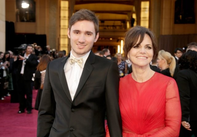 Sam Greisman (L) and Sally Field arrive at the Oscars at Hollywood & Highland Center on February 24, 2013 in Hollywood, California.