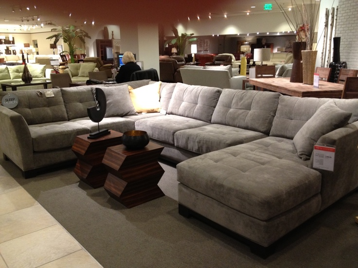 Macys sectional for living room  furniture  Leather