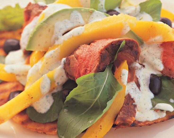 Beef and Avocado Salad