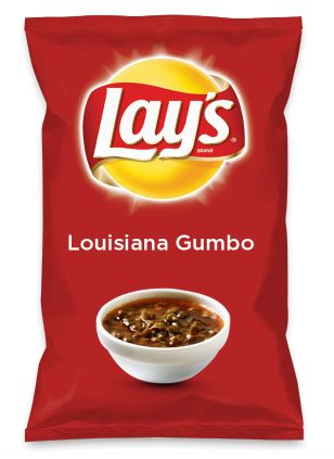 Wouldn't Louisiana Gumbo be yummy as a chip? Lay's Do Us A Flavor is back, and the search is on for the yummiest flavor idea. Create a flavor, choose a chip and you could win $1 million! https://www.dousaflavor.com See Rules.