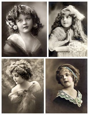 Vintage Photo Postcards ~ Magic Moonlight Free Images