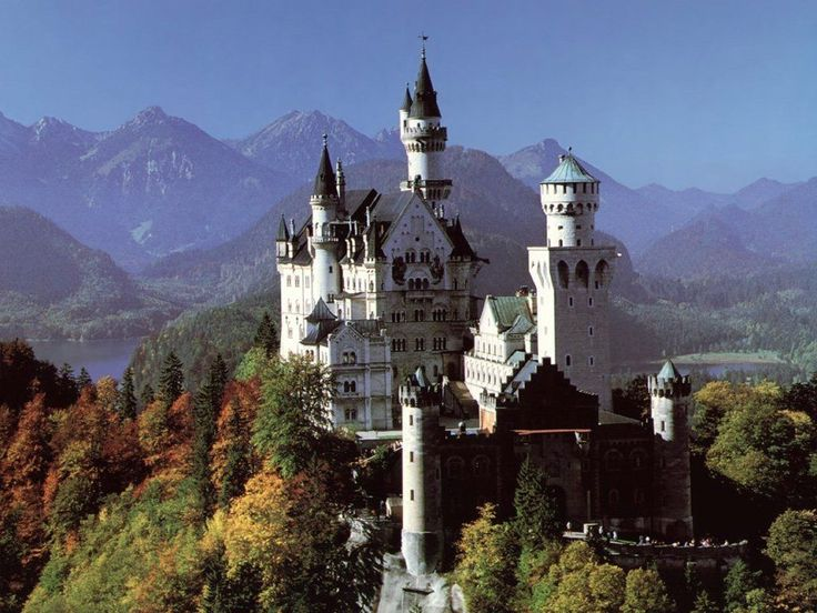 Neuschwanstein Castle Bavaria GermanySleep Beautiful, Walt Disney, Favorite Places, Cinderella Castle, Disney Castles, Neuschwanstein Castles, Castles In Germany, Bavaria Germany, Fairies Tales