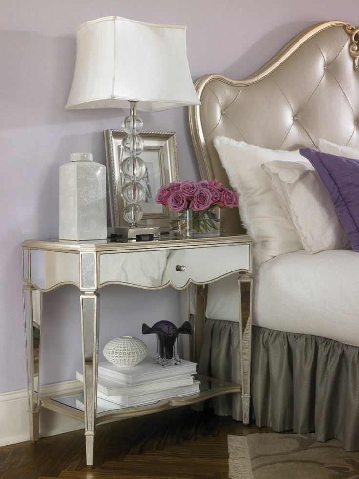 Mirrors Behind Bedside Tables: 17 Best Images About Bedroom Ideas On Pinterest