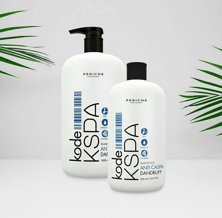 Shampoo KODE KSPA Anticaspa. #Champú contra la caspa con piritionato de zinc ingrediente más efectivo contra la #caspa seca y grasa. Limpia profundamente el cuero cabelludo. 💁♀️