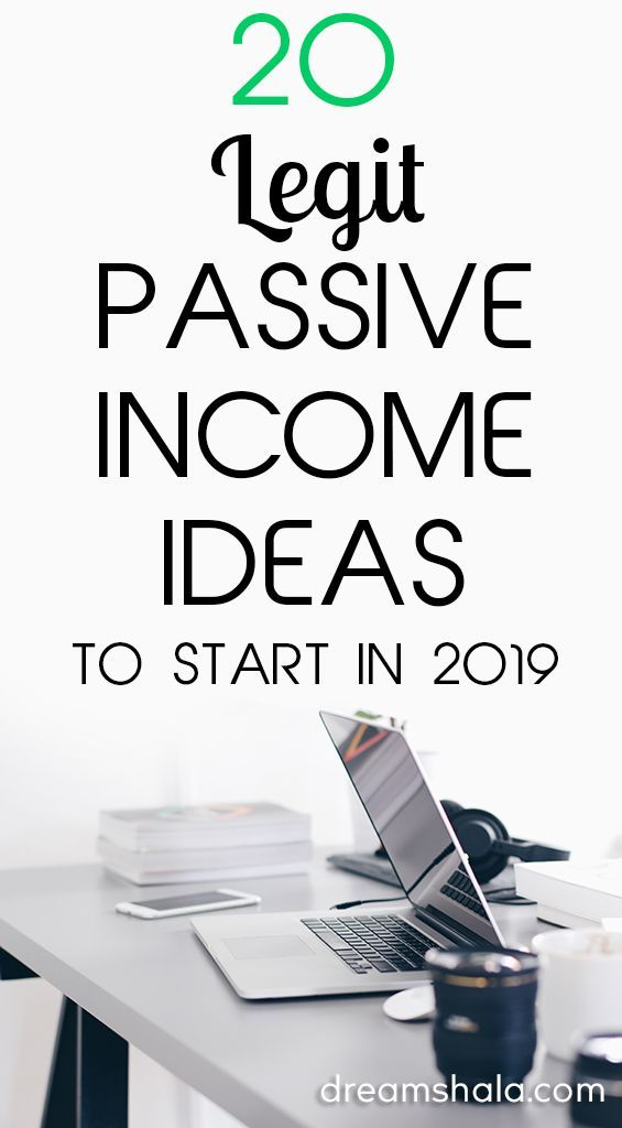 20 Legit Passive Income Ideas To Make Money While Sleeping – Dreamshala – Start Your Own Business & Make Money Online