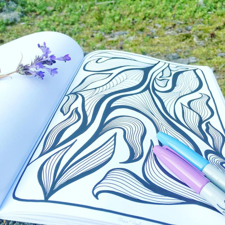 "Mental Images Coloring Books (@paivivesala_art) on Instagram: ""Want 10 printable coloring pages picked from Mental Images (1-3) books? FOR FREE! * Click the link…"""