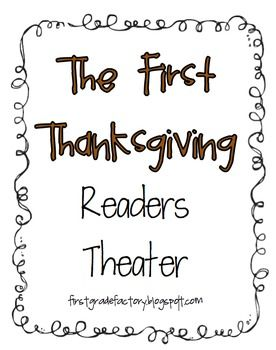 FREE The First Thanksgiving Readers Theater