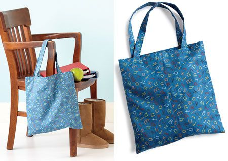 Kids' craft: How to sew a tote bag