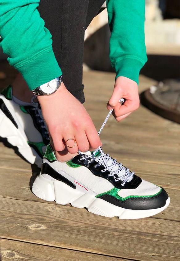 SERAFINI OREGON Blanc en 2020 | Sneakers, Vêtements de