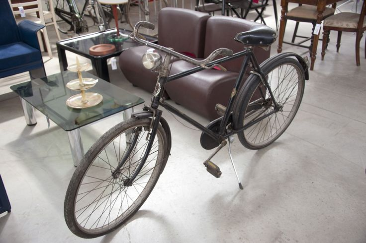 Bicicletta Touring Milano anni '40 conservata #vintagecycle #bicivintage