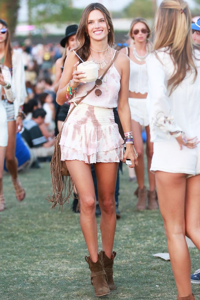 What to Wear to Coachella - Alessandra Ambrosio  - from InStyle.com