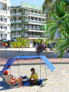 Diagonal al mar Hotel Verde Mar en San Andrés