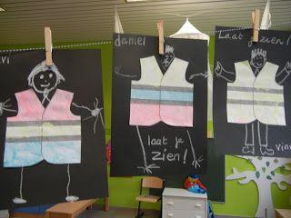 Welkom op de blog van kleuterschool Tichelrij: Thema 'Laat je zien in het verkeer'