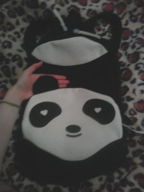 Интернет-магазин Мода Прекрасный Panda Холст Женщины Рюкзак Школьный Мешок Студент Сумки Для Колледжа Девочек Подростков Mochilas Повседневная Daypacks   Aliexpress для мобильных