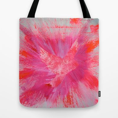 THEPEACEBOMB PINK BLOW Tote Bag by ThePeaceBombers - $22.00Created by the Founder of The PeaceBomb Team. Join it now!  Reality is just shared illusions, let's make a Peaceful reality. #peace #totebag #shopping #trendy