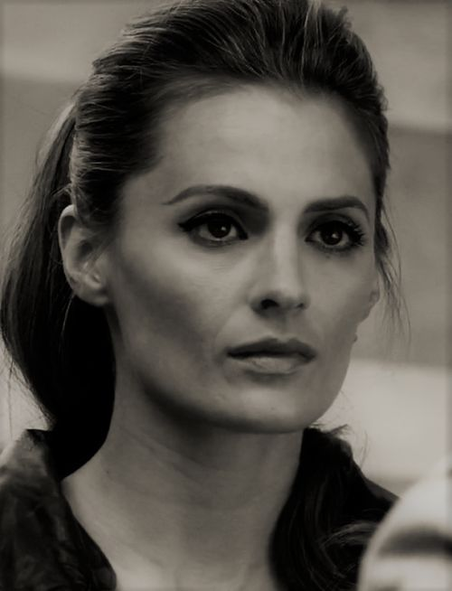 Stana Katic from Castle. So pretty