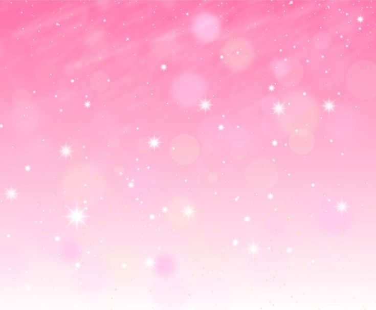 Pink background with starry lights. Pink sparkle background