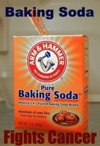 Baking Soda Fights Cancer Let met give you a summary about cancer and fungal conditions: The cancer industry is closing in on baking soda and how it is a primary tool in treating fungus. Cancer is a fungus, can be caused by a fungus, or is accompanied by late-stage fungal infections. If one has cancer, chances are pretty good that one also has a fungal infection to one degree or another.