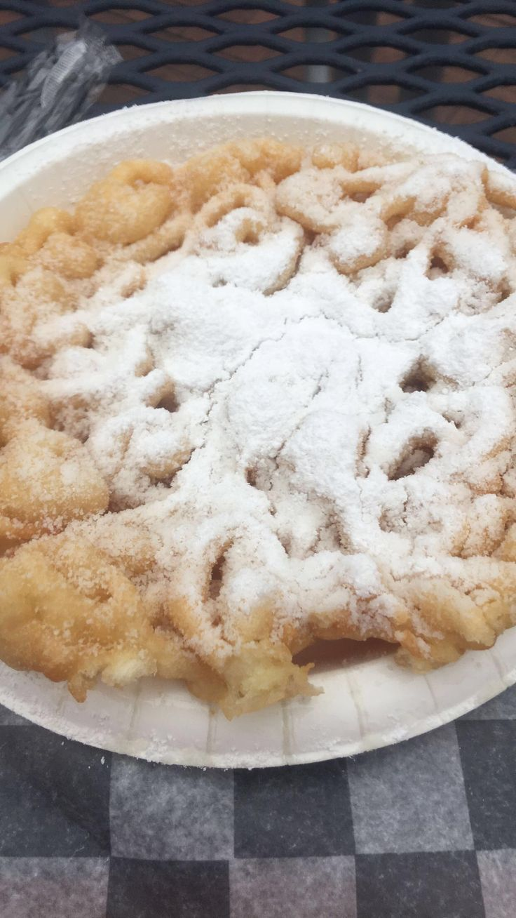 Funnel cake || San Antonio || fiesta Texas || food || amazing 😉