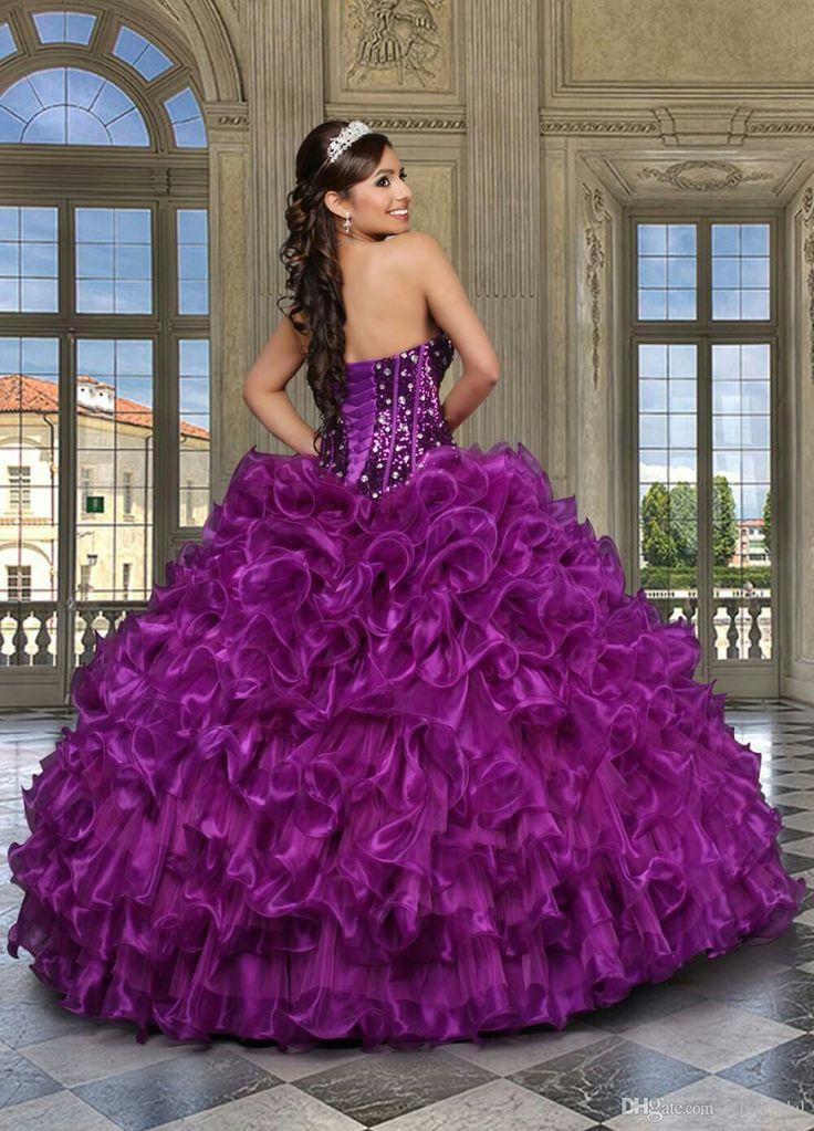 Mejores 186 imágenes de 15 dress! quinseneras! en Pinterest | 15 ...
