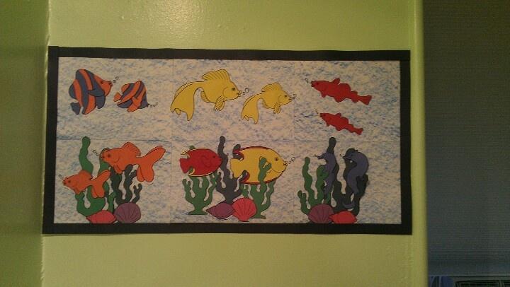 Classroom Aquarium Ideas ~ Aquarium and bulletin boards on pinterest