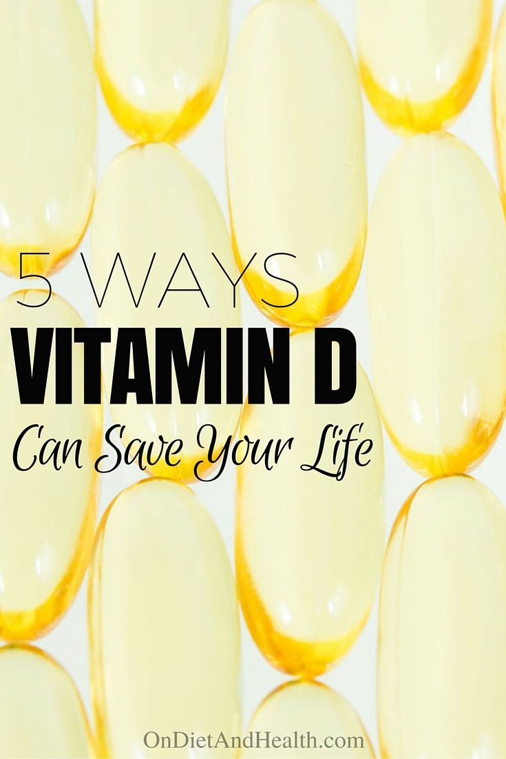 5 Ways Vitamin D Can Save Your Life – On Diet And Health