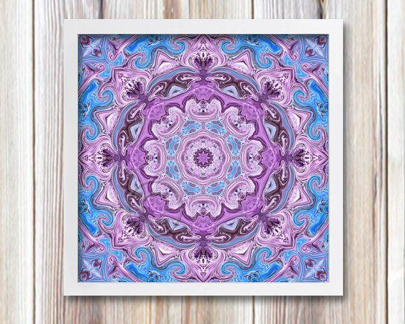 New Age Mandala Art | Printable Wall Decor