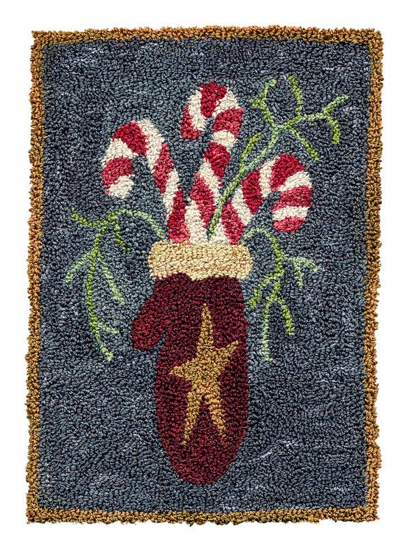 Mintten  Pattern for Punch Needle Embroidery by TheQuiltShopWI, $12.00