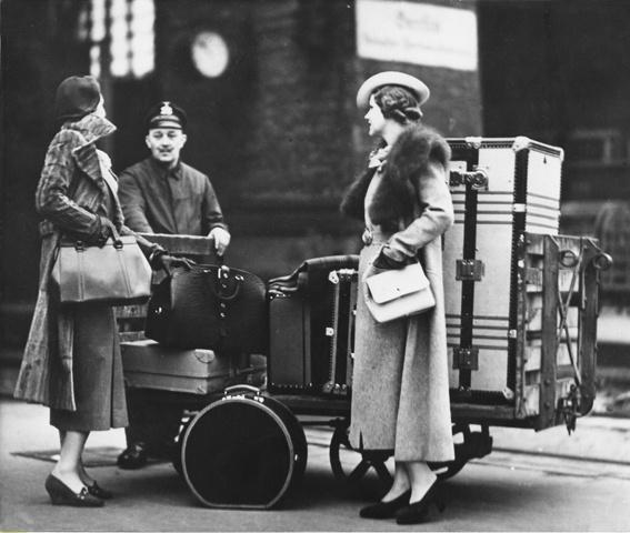 Goyard luggage