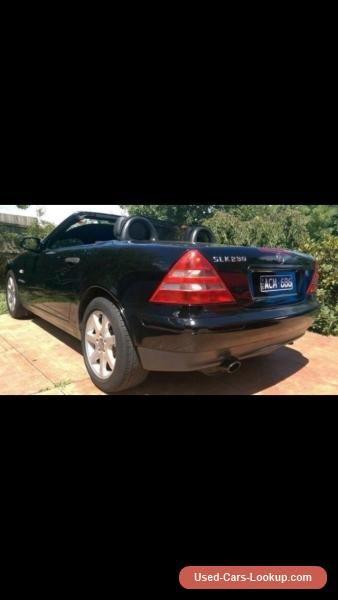 1999 Mercedes -Benz SLK 230 Kompressor Black 5 sp A Convertible #mercedesbenz #slkclass #forsale #australia