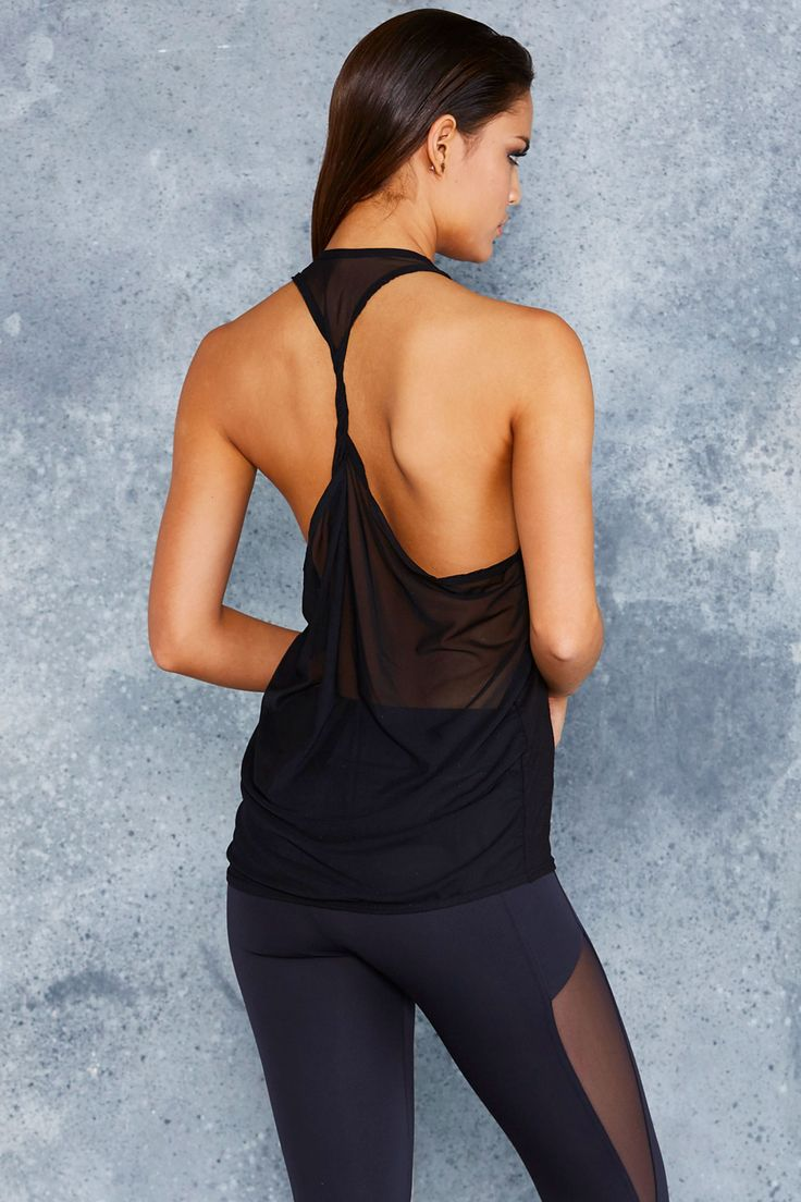 Sheer Twist Back Top ($60AUD) by BlackMilk Clothing