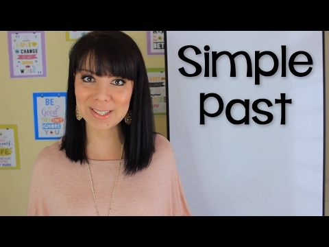 EXPLICACIÓN DEL PASADO SIMPLE EN INGLÉS - INTRODUCCIÓN - YouTube