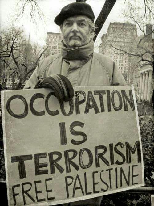 #OCCUPATION IS #TERRORISM - #FREE #PALESTINE