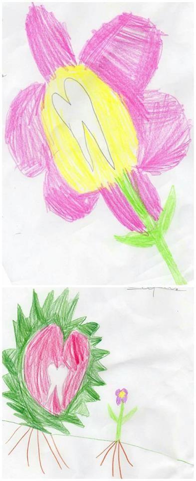 Αυτή τη φορά η μικρή Σάρα έκανε δύο ζωγραφιές! Ευχαριστούμε τη μαμά της που μας τις έστειλε.